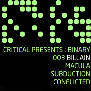 Binary Vol. 3 – Prvo muzičko izdanje Billain-a za Critical Music!